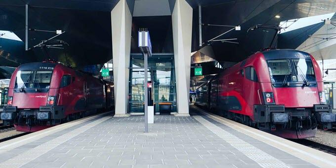 Поезда InterRail