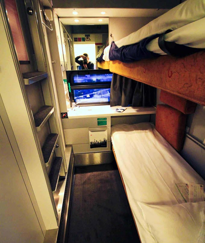 Спальные места в поездах
