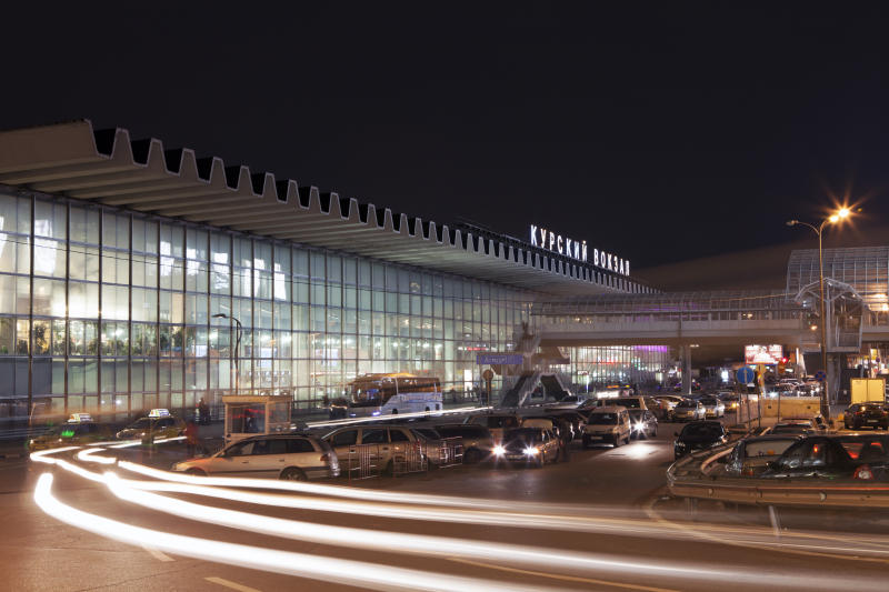 Курский вокзал в Москве