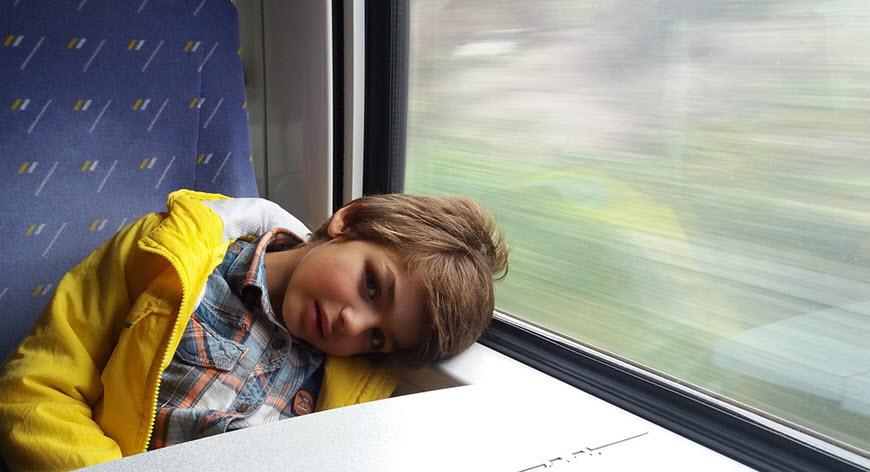 Много плюсов поездки на поезде