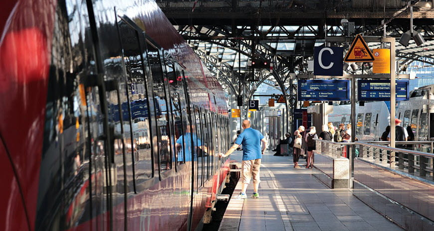 ЖД станция в Кельне