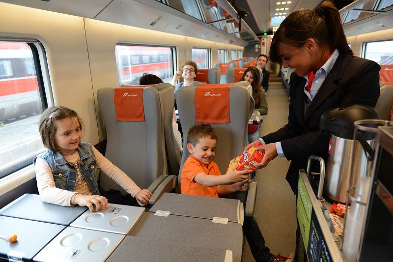 Как выглядят вагоны поездов в Италии